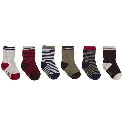 Robeez Fall Basics Socks, 6-Pack