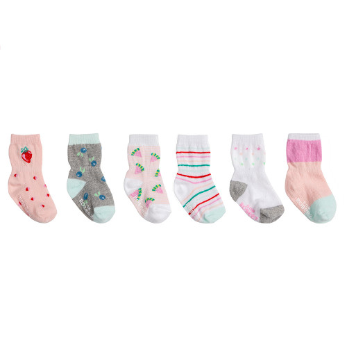 Robeez Fruity Socks, 6-Pack