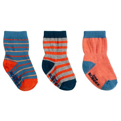 Robeez Jack Socks, 3-Pack