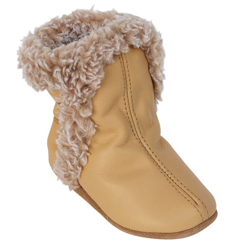 Robeez Classic Bootie Taupe