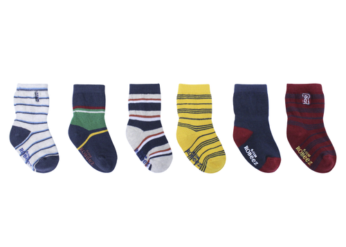 Boys Varsity Socks 6 Pack