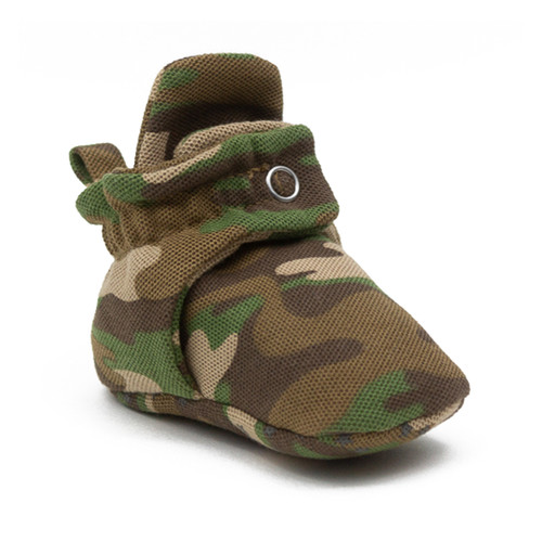 Robeez Camo Snap Booties