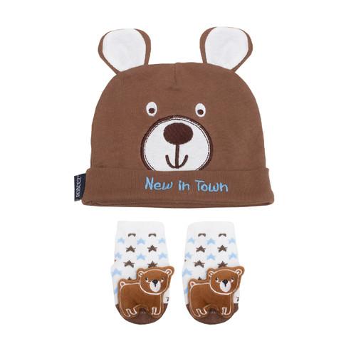 Robeez Woodland 2 Piece Gift Set Brown
