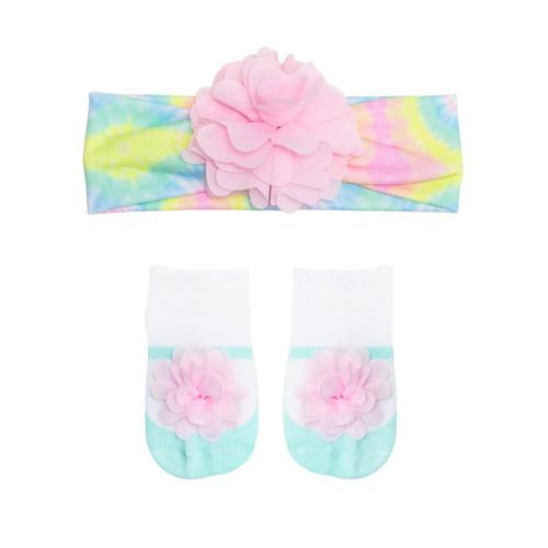 Robeez Tie Dye 2 Piece Gift Set Multi