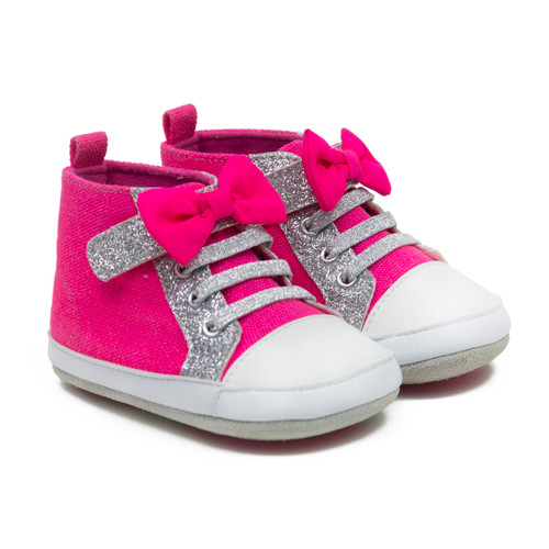 Robeez Lucy Sparkle - Neon Pink