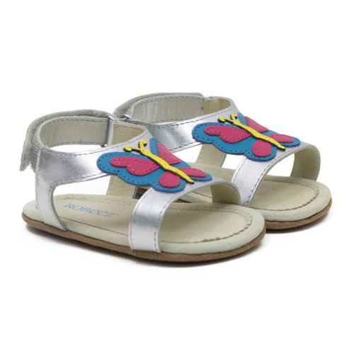 Robeez Butterfly - Silver