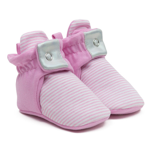 Robeez Stripe - Lt Pink
