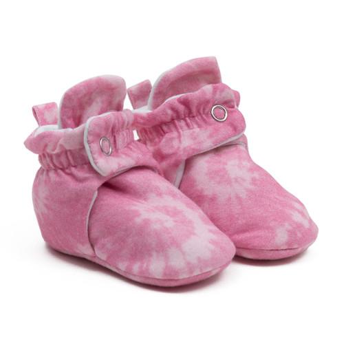 Robeez Spiral Tie Dye - Light Pink