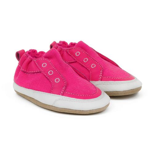 Stylish Staci Soft Soles Neon Pink