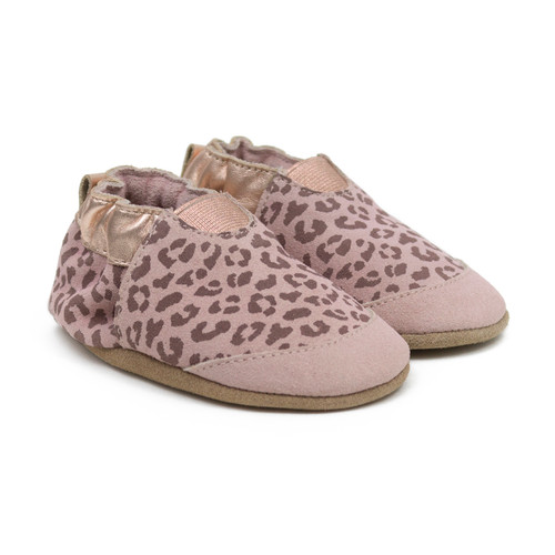 Robeez Animal Print - Blush