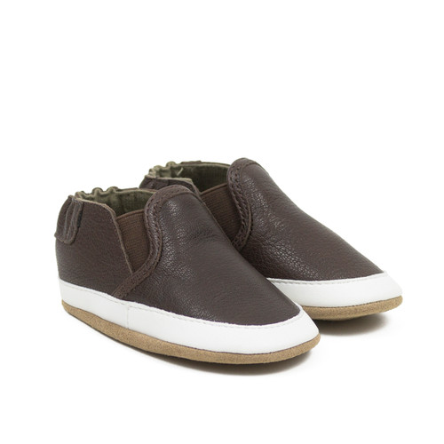 Liam Basic Soft Soles Chocolate Brown
