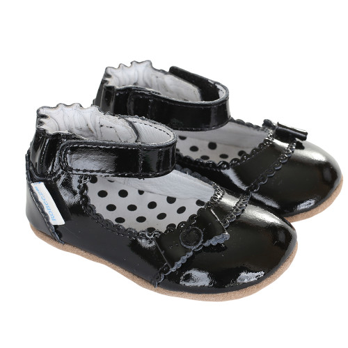 Robeez Catherine Black Mini Shoez