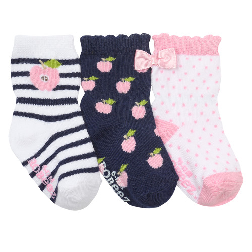 Robeez Apple Pickin Baby Socks