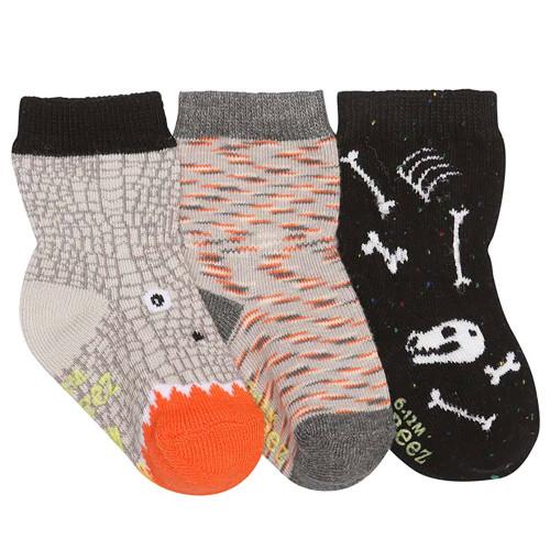 Robeez Dino Dan Socks, 3-Pack
