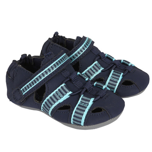 Robeez Beach Break Navy Mini Shoez