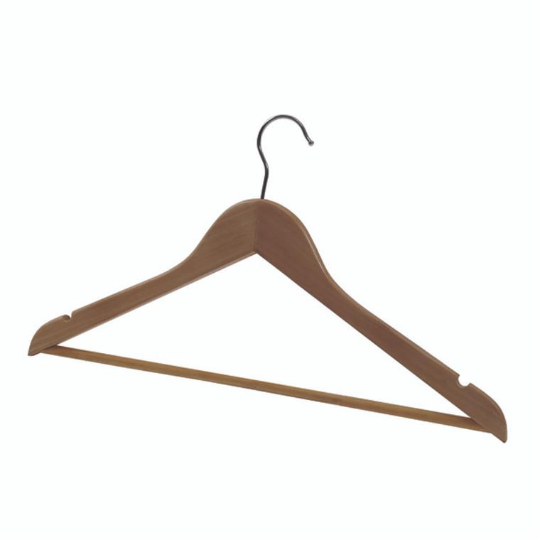 ALB00878 Alba Wooden Coat Hanger Pack 25 PMBASICBO