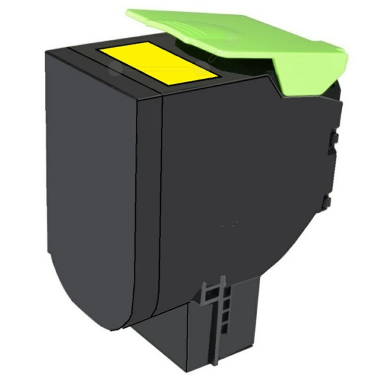 70C2XYE Lexmark 70C2XYE 702XY Yellow Toner Extra High Yield