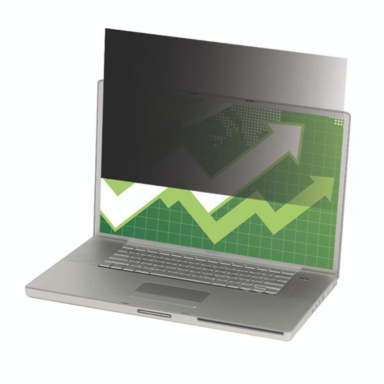 3M78728 3M Black Privacy Filter Desktops 24in Widescreen 16 10 PF24 0W