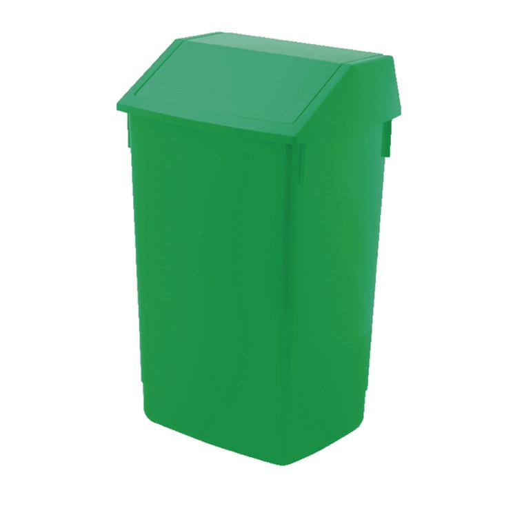 AG813422 Addis Fliptop Bin 60 Litre Green AG813422