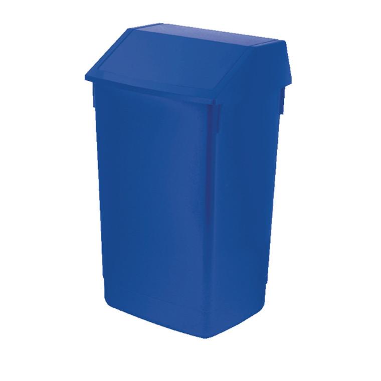 AG813424 Addis Fliptop Bin 60 Litre Blue AG813424