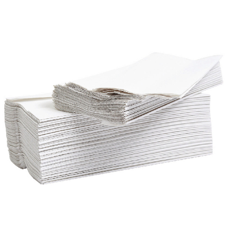 2W00270 2Work 2-Ply Flushable Hand Towel White Pack 2304 12909VW