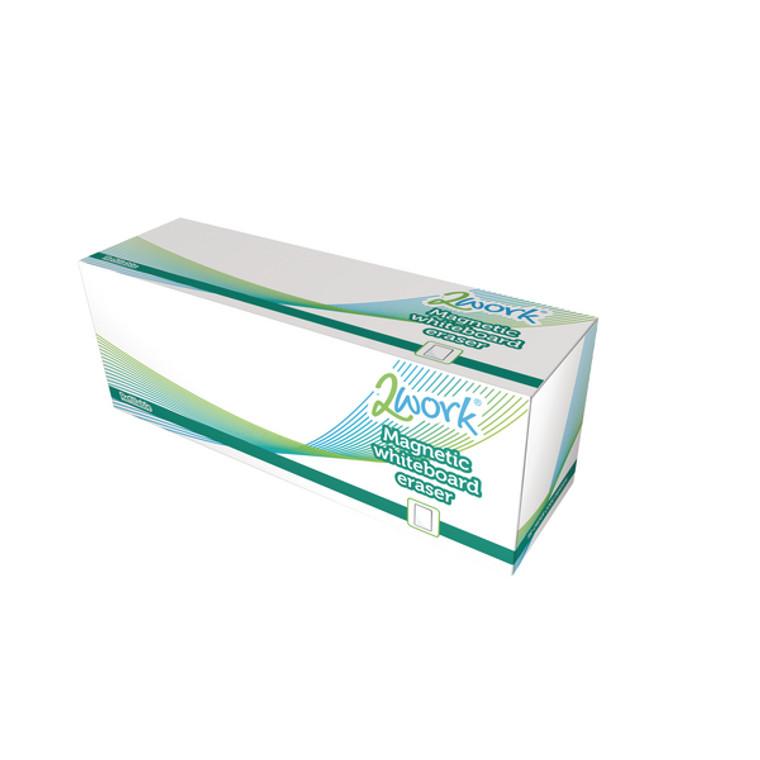 DB50836 2Work Magnetic Refillable Whiteboard Eraser DB50836