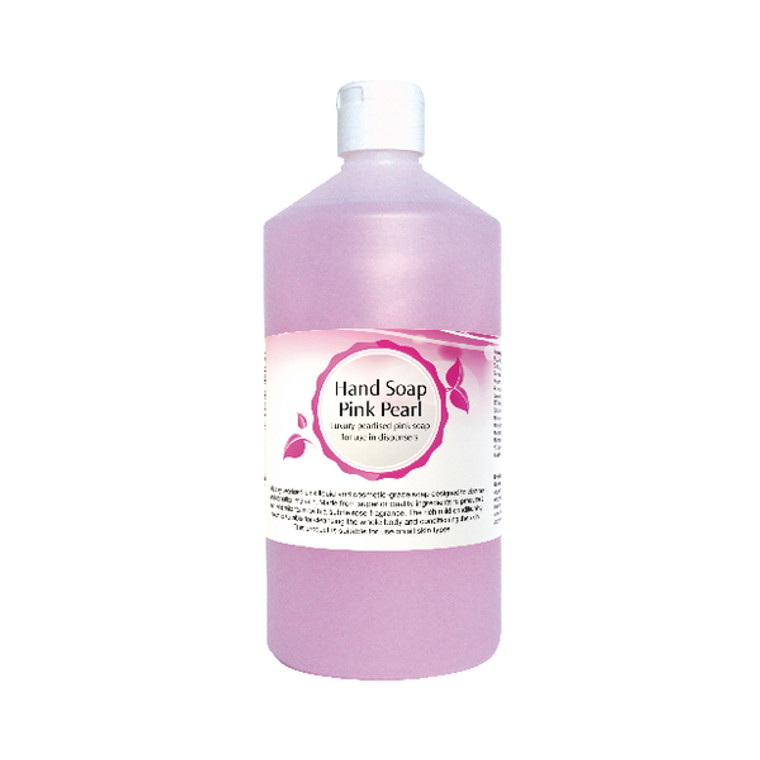 2W07558 2Work Pink Pearl Hand Soap 750ml 402