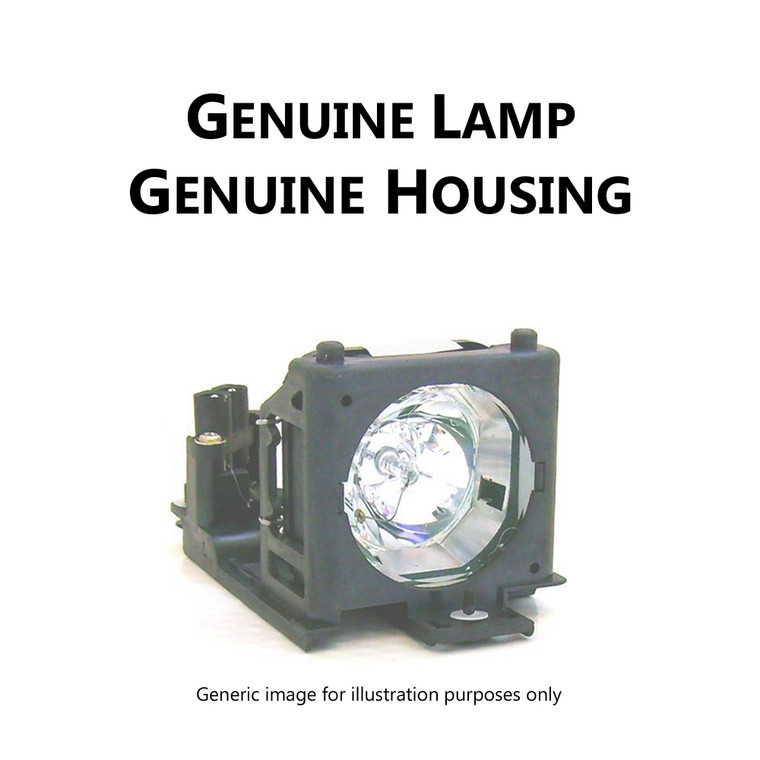 208744 Hitachi Maxell DT01191 CPX2021LAMP - Original Hitachi Maxell projector lamp module with original housing