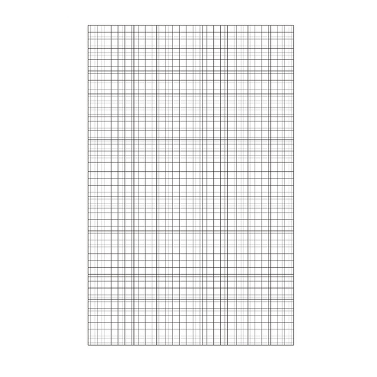 MO00417 Loose Leaf A4 Paper 75gsm Unpunched Graph Ruling Pack 500 100103410