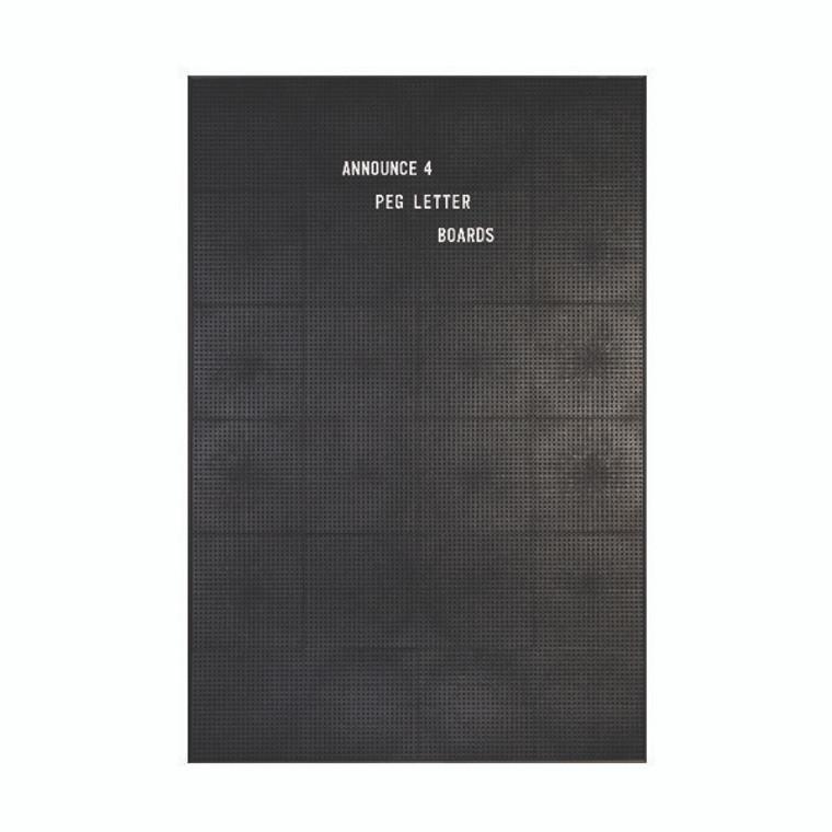 AA03911 Announce Peg Letter Board 920x615mm 1 ECON-4 VC EC-KIT692