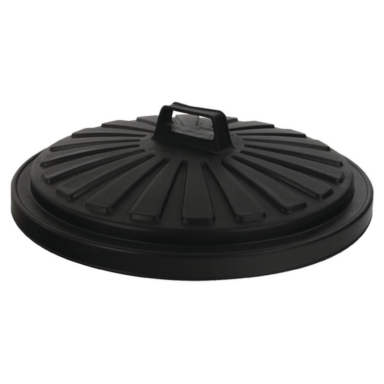 AG05089 Addis Dustbin Lid Round 90 Litre Black 0766MOB