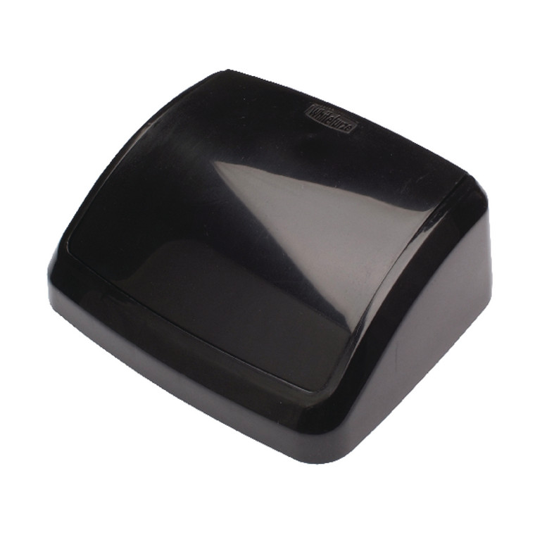 2W02396 2Work Swing Bin Lid 10 Litre Black 2W02396