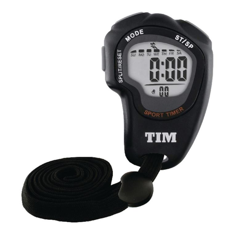 ANG09023 Acctim Olympus Stopwatch Black TIM902B