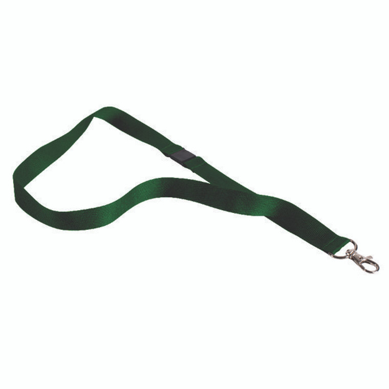 AA03631 Announce Textile Badge Necklace Green Pack 10 AA03631