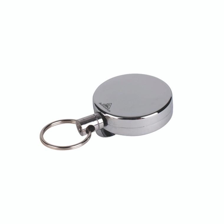 PV00676 Announce Badge Reel 660mm Chrome Pack 10 PV00676