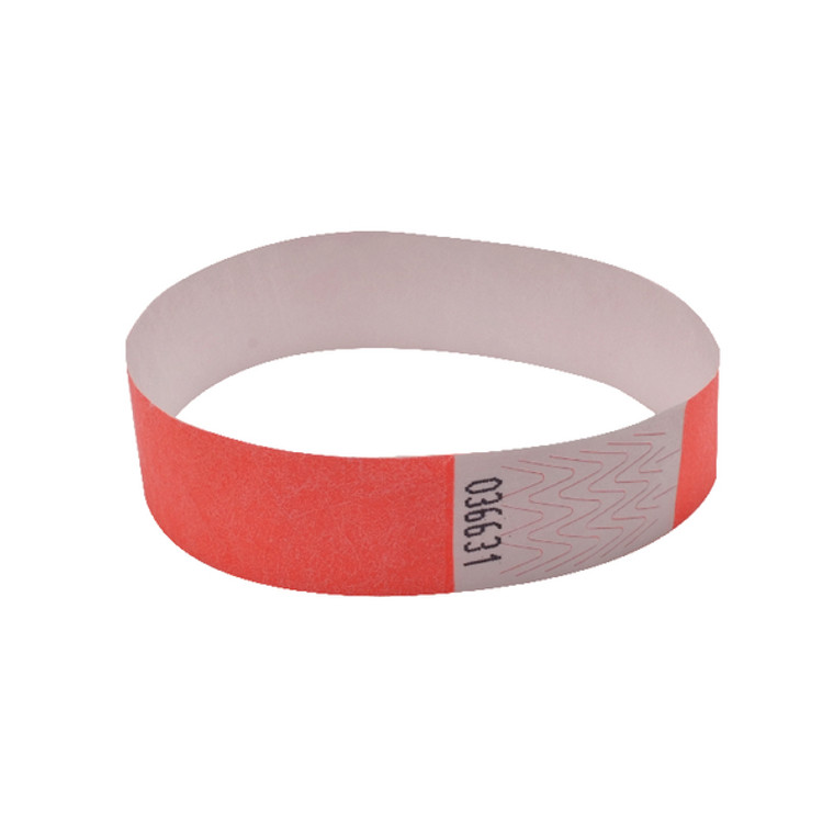 AA01833 Announce Wrist Band 19mm Coral Pack 1000 AA01833
