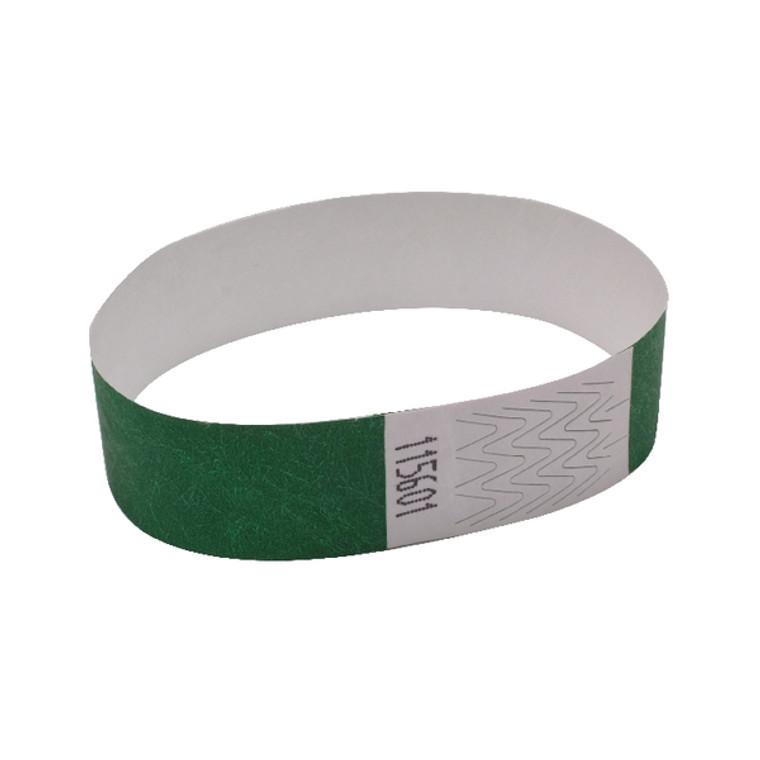 AA01834 Announce Wrist Band 19mm Green Pack 1000 AA01834