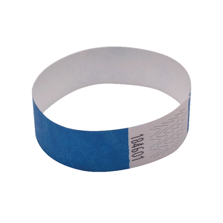 AA01835 Announce Wrist Band 19mm Blue Pack 1000 AA01835