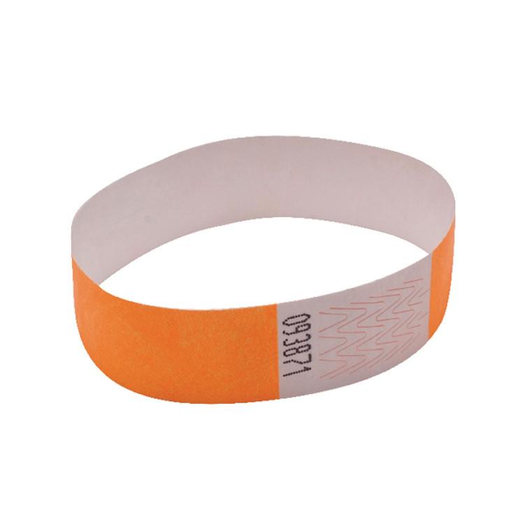 AA01836 Announce Wrist Band 19mm Orange Pack 1000 AA01836