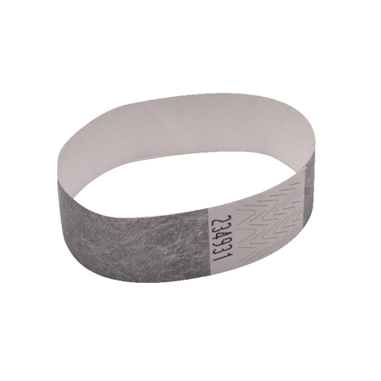 AA01838 Announce Wrist Band 19mm Silver Pack 1000 AA01838