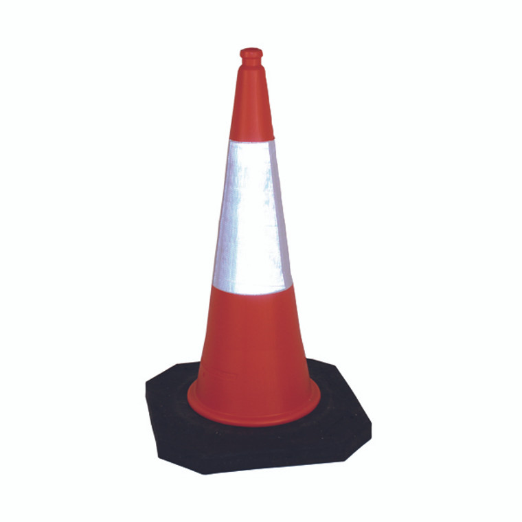 SBY43491 2 Part Traffic Cone 1000mm Base Constructed 100 Recycled Materials 398431