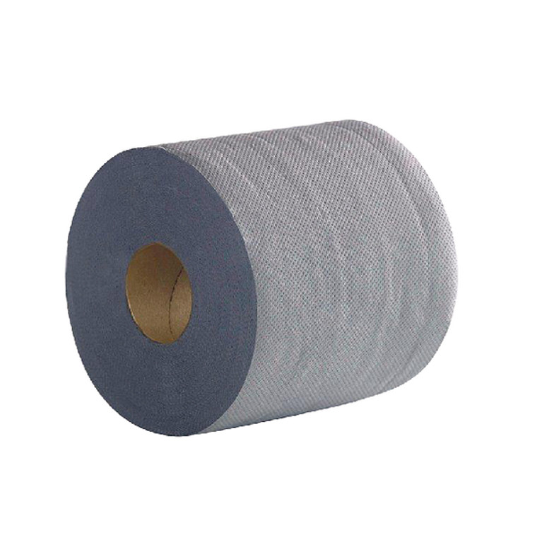 2W03010 2Work 2-Ply Centrefeed Roll 100m Blue Pack 6 2W03010