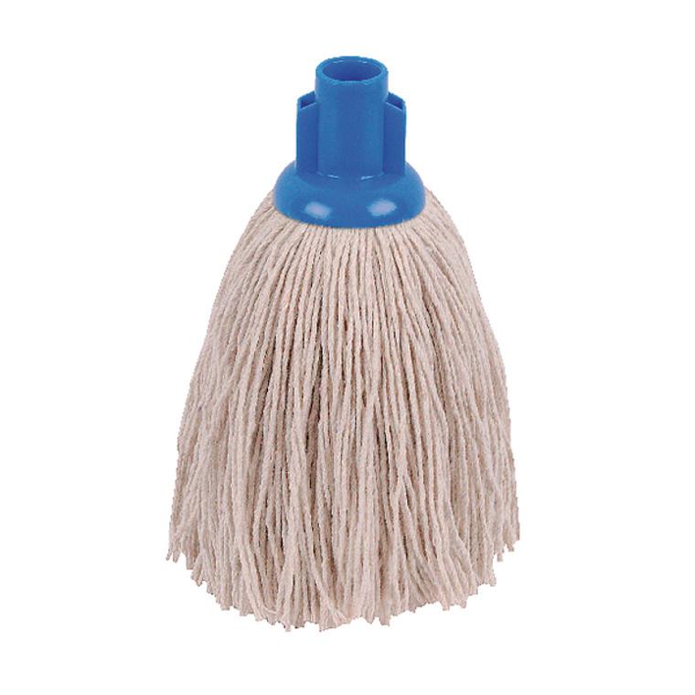2W04287 2Work Twine Rough Socket Mop 12oz Blue Pack 10 101851B