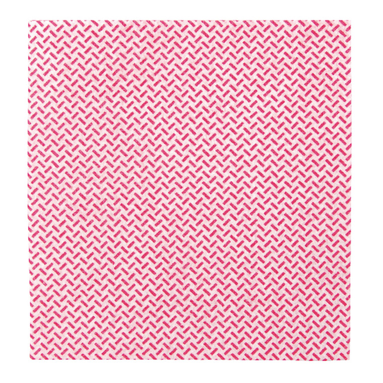 2W08162 2Work Med Weight Cloth 380x400mm Red Pack 5 103179R