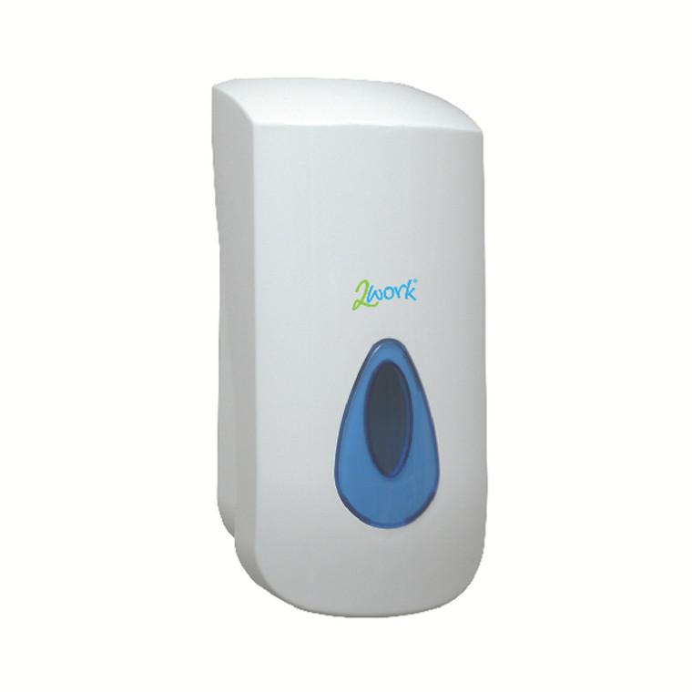 2W01102 2Work Foam Soap Dispenser White 2W01102