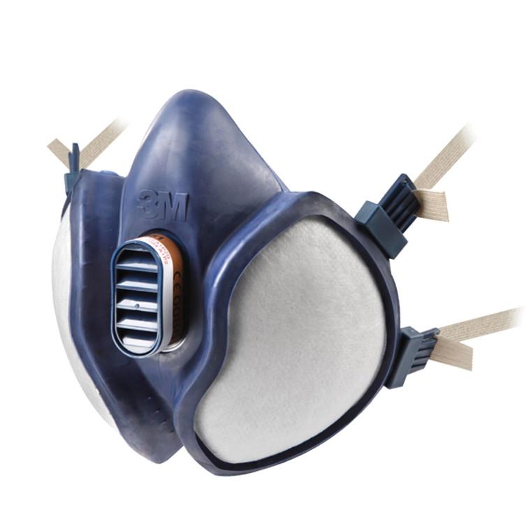 3M31365 3M Respirator Half Mask Blue Conforms EN405 2001 A1 2009 4251