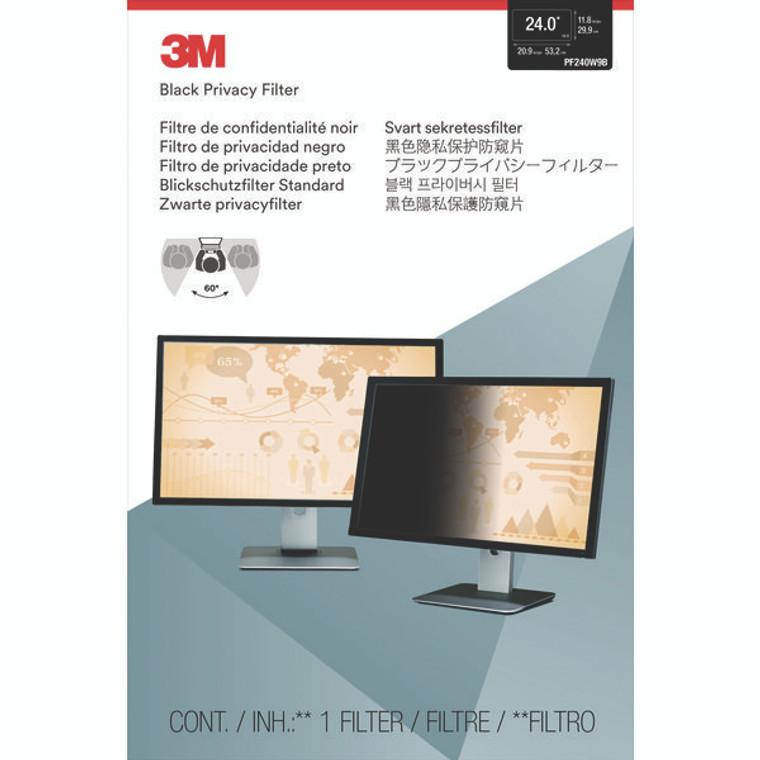 3M79718 3M Privacy Filter Widescreen Desktop LCD Monitor 24 0in PF240W9B