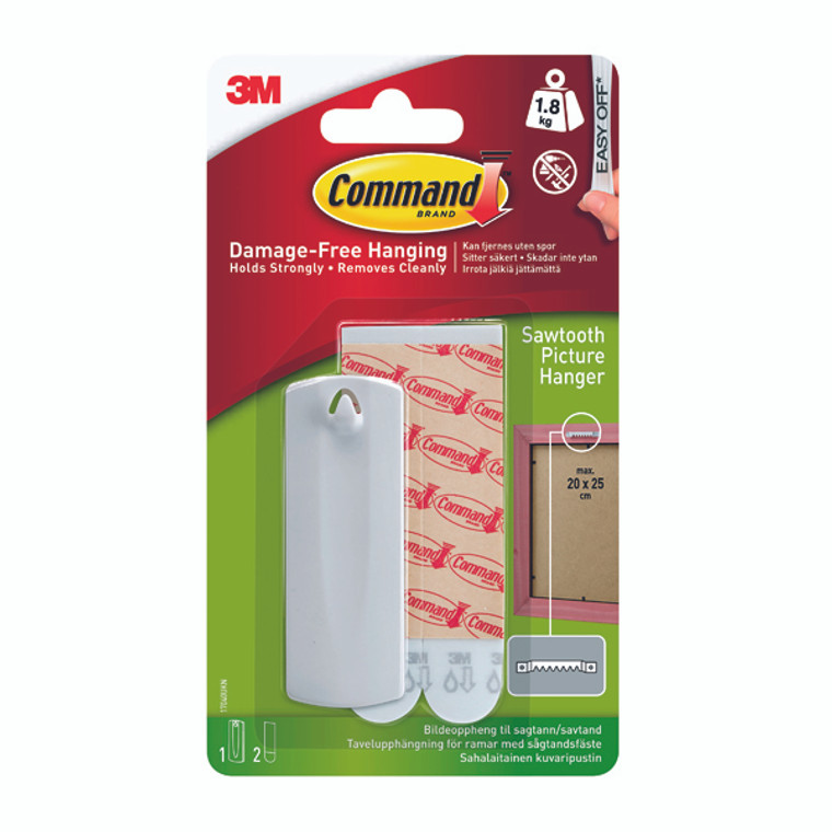 3M70536 3M Command Sawtooth Picture Hanger 17040