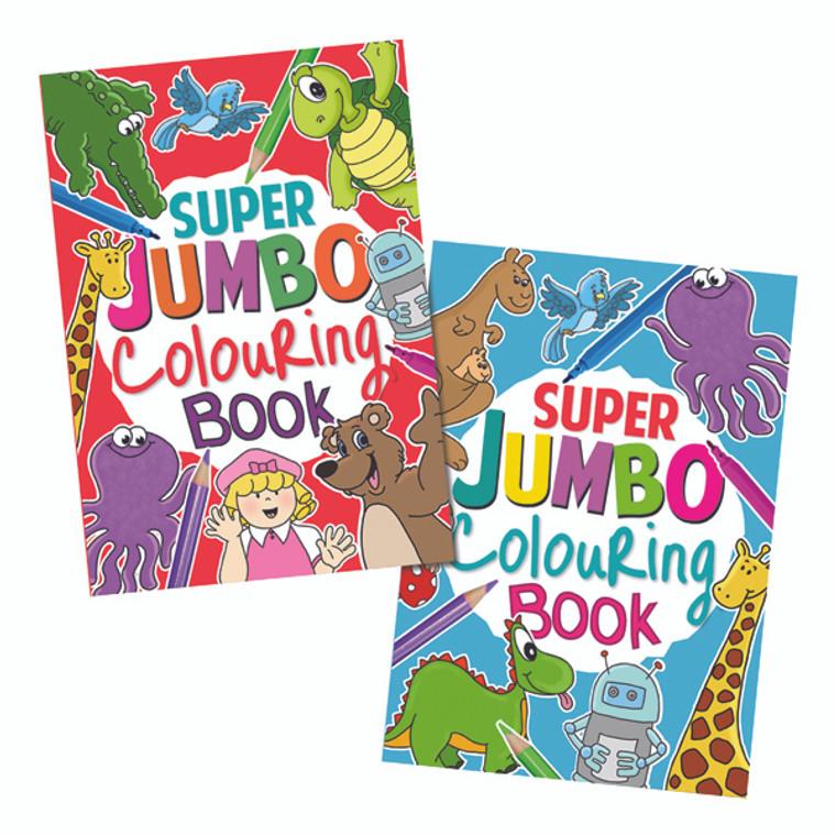 TA04049 Artbox Jumbo Colouring Book Pack 6 4049