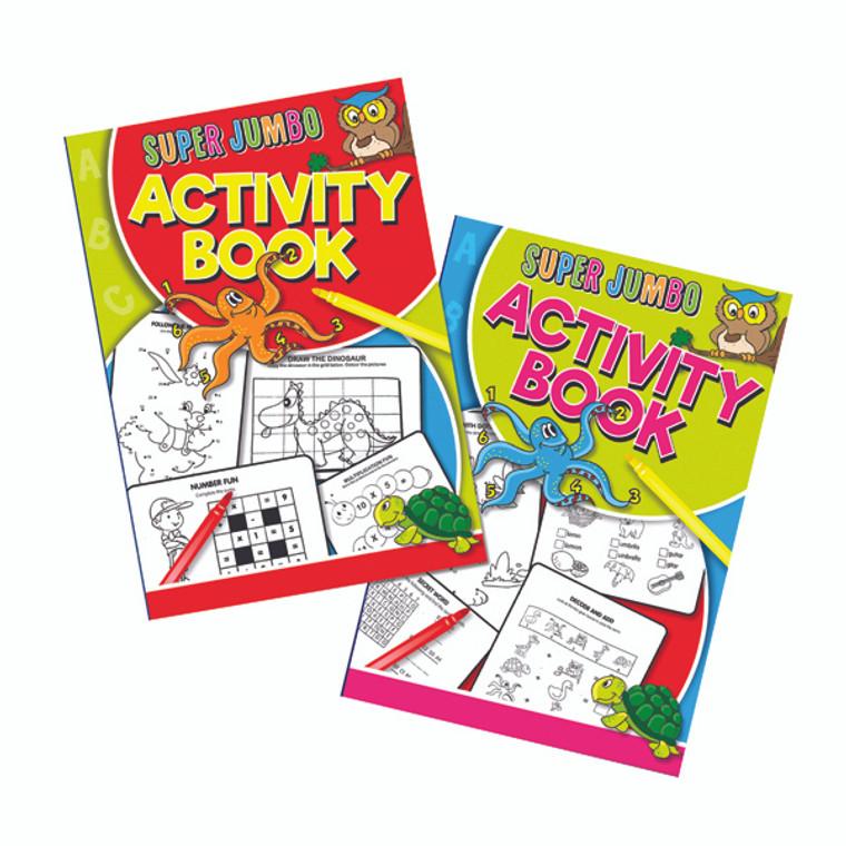 TA04052 Artbox Super Jumbo Activity Book Pack 6 4052
